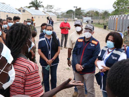 Defensor Leblanc se reunirá con su homólogo colombiano ante crisis migratoria
