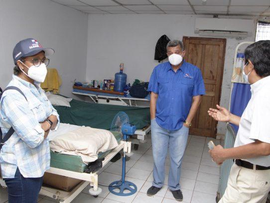 Concejales de Darién piden al MINSA mejoras a instalaciones de salud