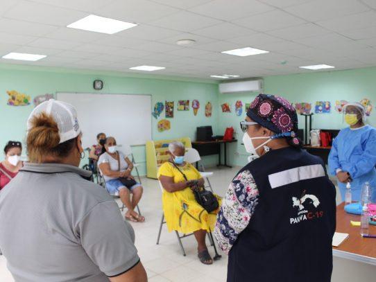 Con 48 mil adultos mayores vacunados cierra jornada en San Miguelito