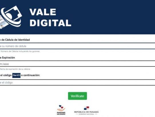 Contraloría refrendó gestión de cobro para pago de Vale Digital
