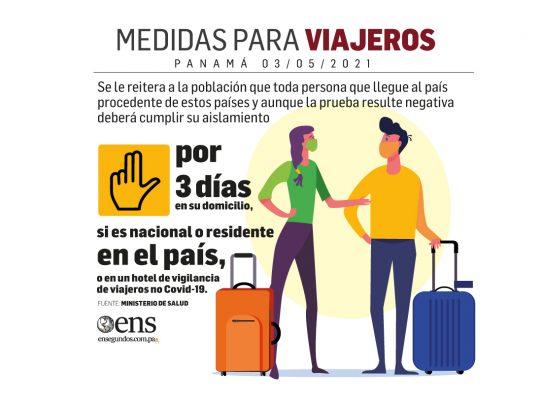 Viajeros: 3 días en sus domicilios