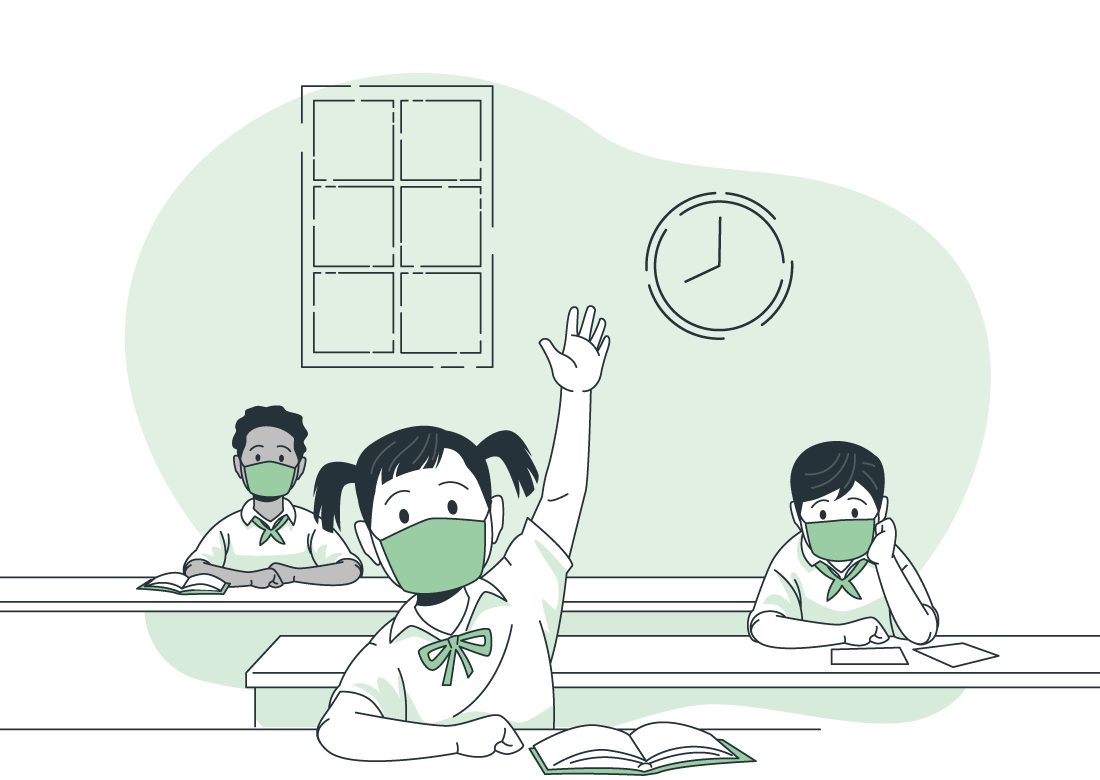 Dan a conocer las 100 escuelas que iniciarán clases semipresenciales