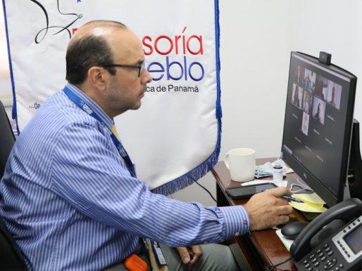 Defensor participa de reunión regional sobre situación de El Salvador y Colombia