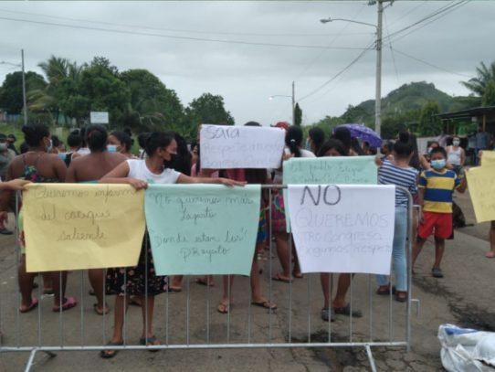 Moradores de Alto Bayano exigen el reconocimiento de su cacique electo