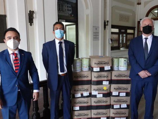 Ya en Panamá: pintura anti Covid-19 con nanopartículas de cobre metálico
