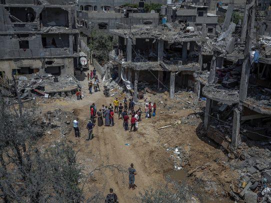 Calma entre Israel y Gaza mientras EE.UU. y Egipto buscan apuntalar la tregua