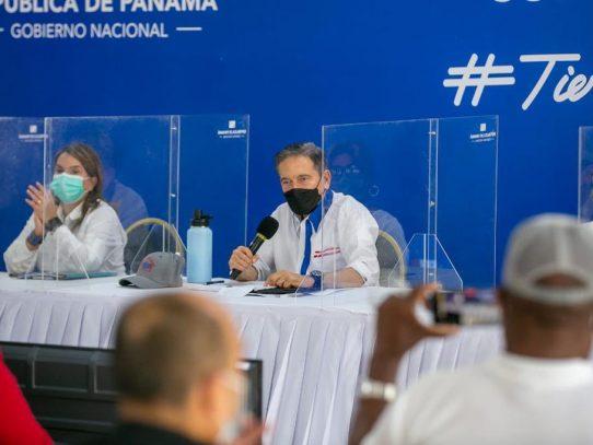 Presidente anuncia 'barrido' de vacunación en Bocas del Toro, Herrera y Los Santos