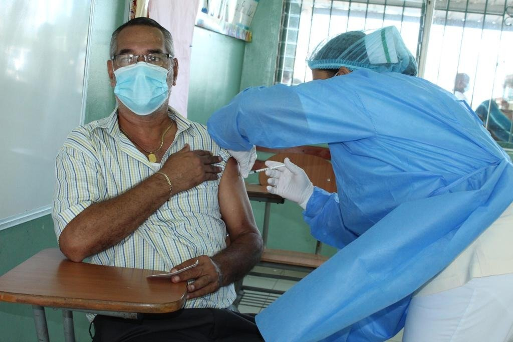 Unas 731,189 dosis contra la covid se han aplicado en Panamá