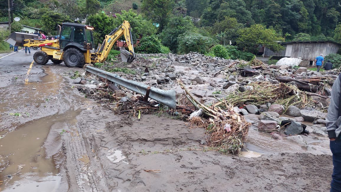 Fuertes lluvias dejan sin agua a varios sectores en Chiriquí