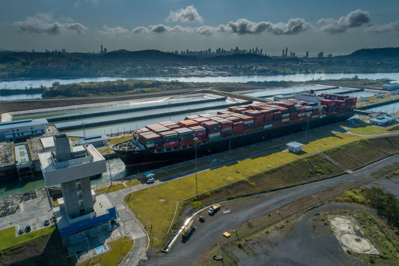 El Canal de Panamá clasificado como empresa líder en el 2020