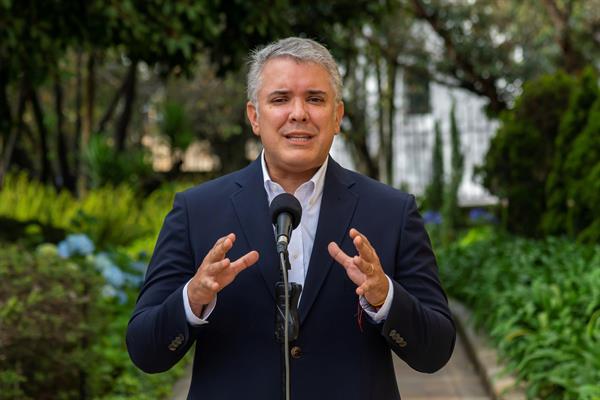 El presidente colombiano se reunirá hoy con el Comité Nacional del Paro