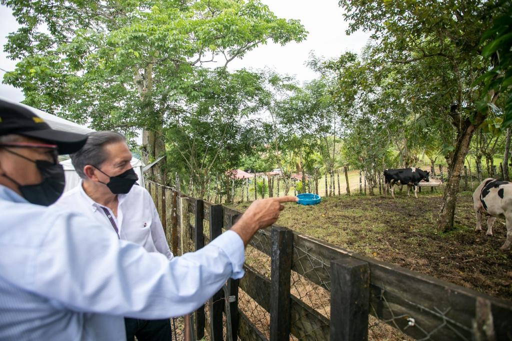 Presidente Cortizo realizó gira de trabajo por Colón