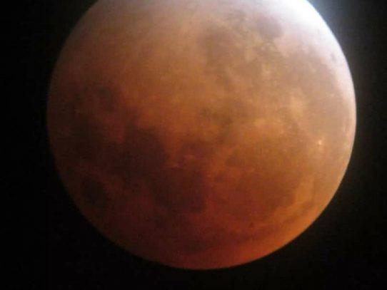 ¡PREPÁRENSE! Eclipse lunar total, el 26 de mayo
