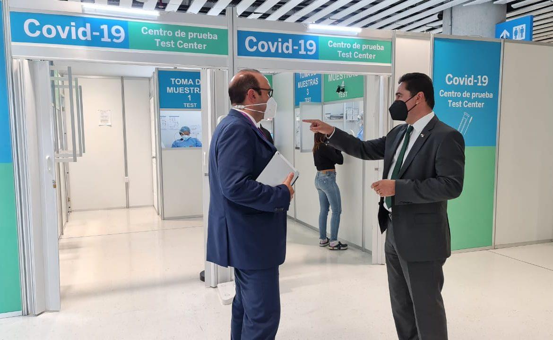 Defensoría recorre sitios de pruebas Covid-19 en aeropuerto de Tocumen