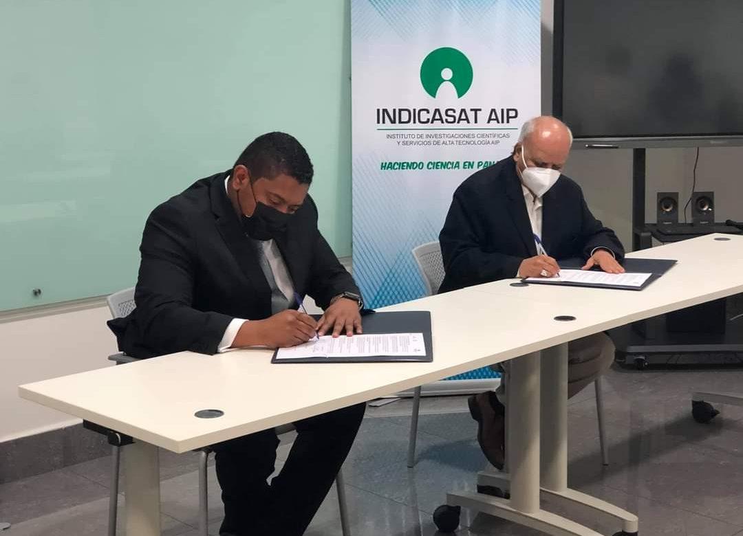 Indicasat y AIG firmaron convenio