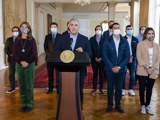 Duque retira el polémico proyecto de reforma tributaria que originó protestas