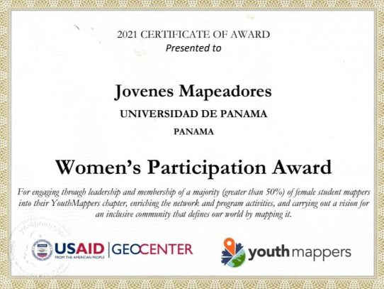 UP recibió reconocimientos