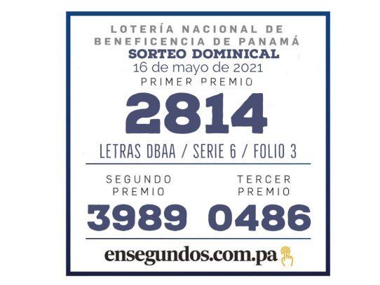 Resultados del sorteo dominical de la LNB de hoy, 16 de mayo de 2021