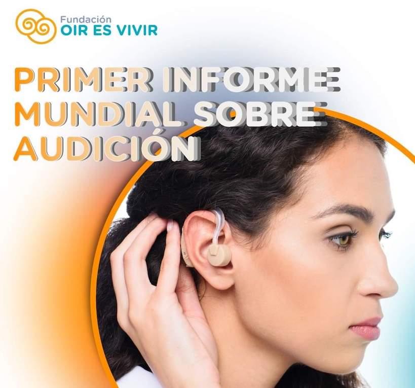 OMS publicó su informe mundial sobre la audición