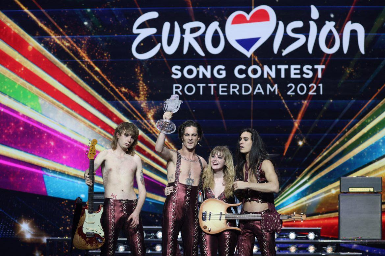 Italia gana el Festival de Eurovisión con un grupo rockero