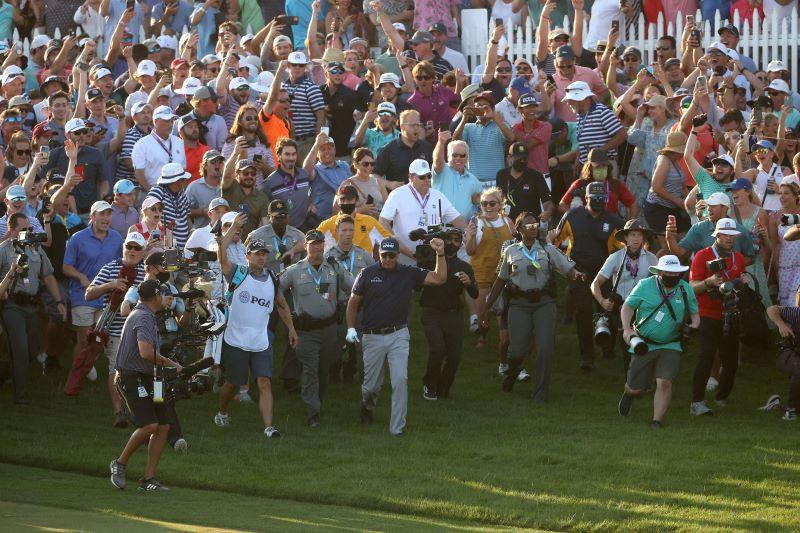 Resultados finales del Campeonato de la PGA