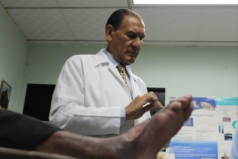 Clínica del Pie Diabético del Centro de Salud de Veranillo reabrió sus puertas