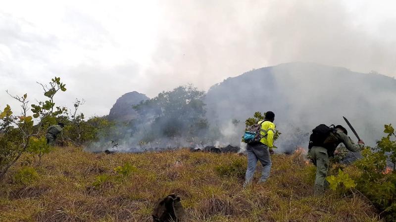 Más de 30 hectáreas de reserva hídrica afectadas por incendio