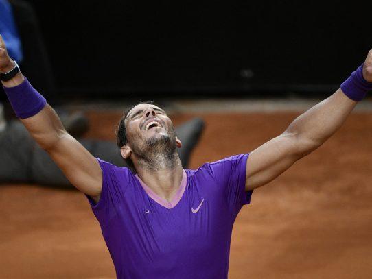 Nadal derrotó a Djokovic y conquistó su décima corona en Roma