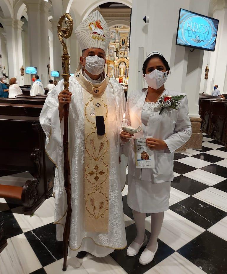 Las enfermeras conmemoraron su Día Internacional