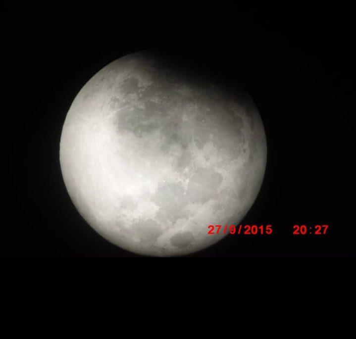 Eclipse lunar el26 de mayo