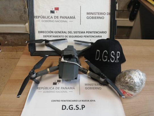 Otro dron es decomisado en la Nueva Joya