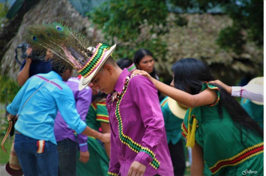 Panamá llevó un grupo aborigen a FITUR