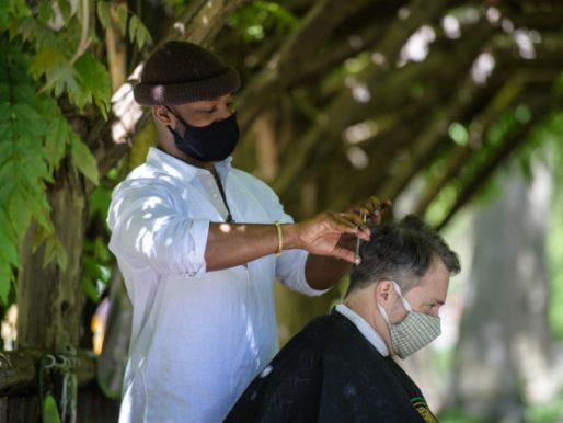 El barbero de Central Park, la nueva atracción de Nueva York