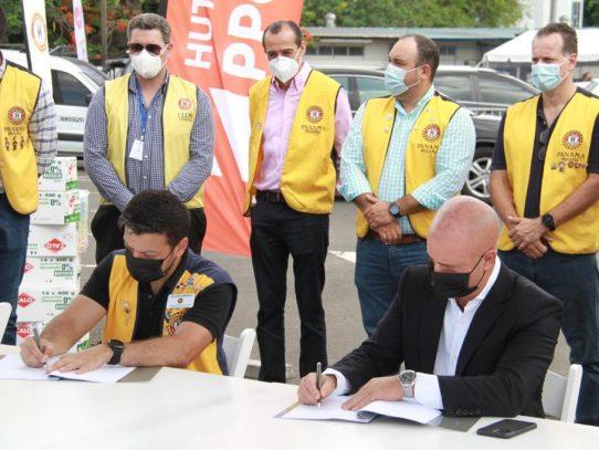 Empresa Panama Ports apoya centro de vacunación en Juan Díaz