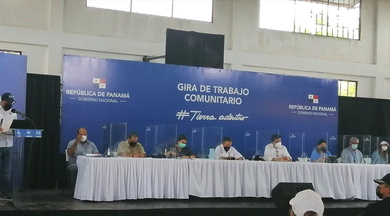 Presidente Cortizo recibe informe CON Vacunas de Herrera