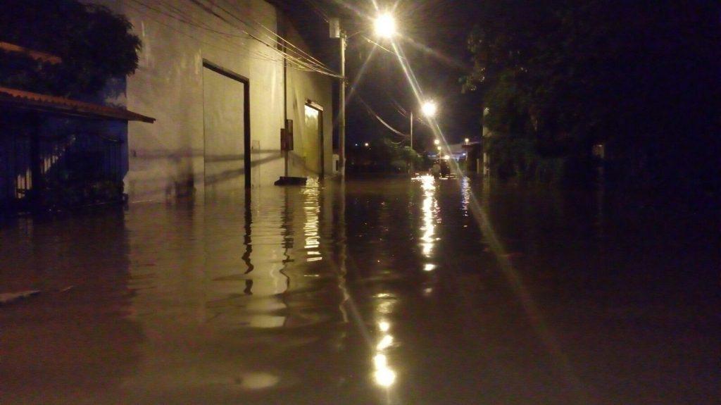 inundaciones en Juan Diaz