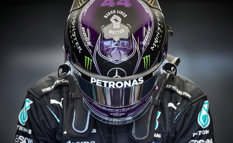 Hamilton (Mercedes) firma su 100ª pole position en el GP de España