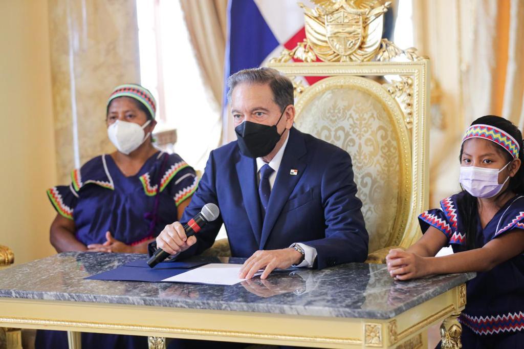 Leyes de interés social sancionó el presidente Laurentino Cortizo