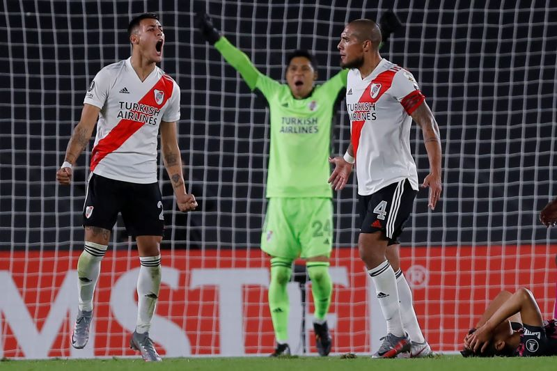 River logró la hazaña con arquero improvisado y sin suplentes en Libertadores