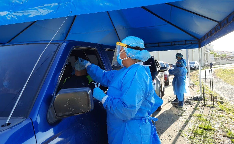 Pandemia: En San Miguelito se han aplicado más de 100 mil hisopados