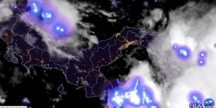 Sinaproc advierte de lluvias y vientos hasta el próximo 14 de mayo