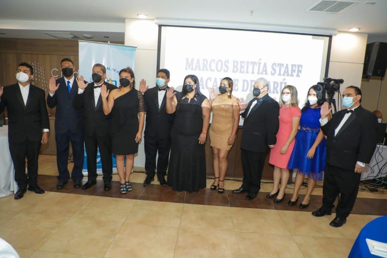Conape Chiriquí juramenta a su nueva junta directiva