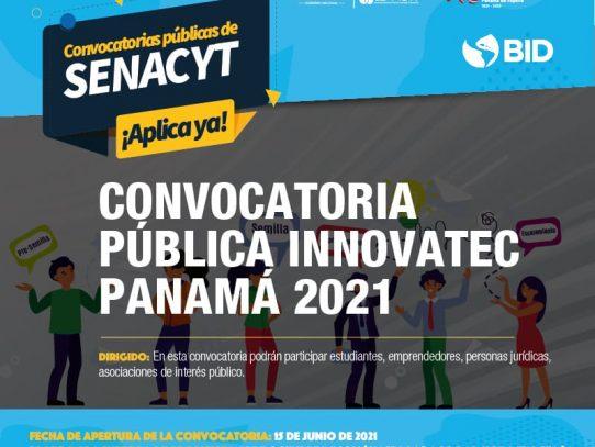 Senacyt ha convocado a los mejores proyectos en ciencia, innovación y tecnología para reactivación económica