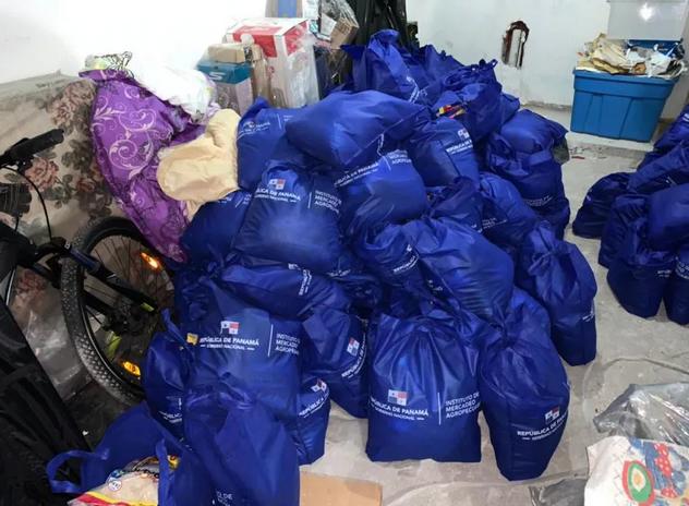 Orden de aprehensión por caso de bolsas de Panamá Solidario