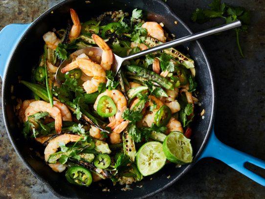 La okra es un ingrediente clásico del verano y tiene mucho que ofrecer