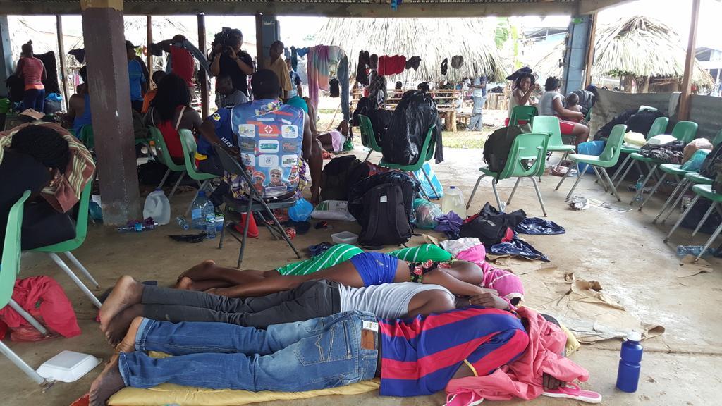 Migrante resulta afectada por descarga eléctrica en Darién