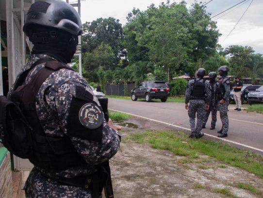 Aprehenden a 8 presuntos pandilleros en Villa Rosario, Capira
