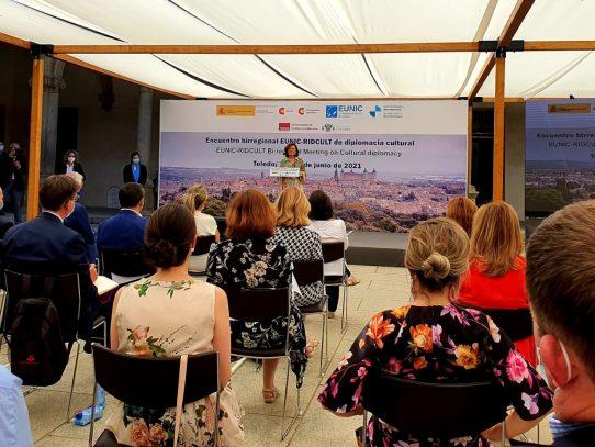 Diplomáticos panameños participan en encuentro birregional cultural en España