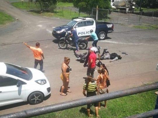 Persecución en Los Santos termina con 4 detenidos y droga decomisada