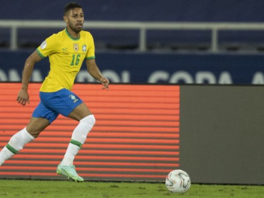 Renan Lodi, el asistidor inesperado de Brasil